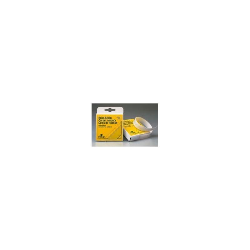 Prinz self adhesive corner mounts - 250 per pack