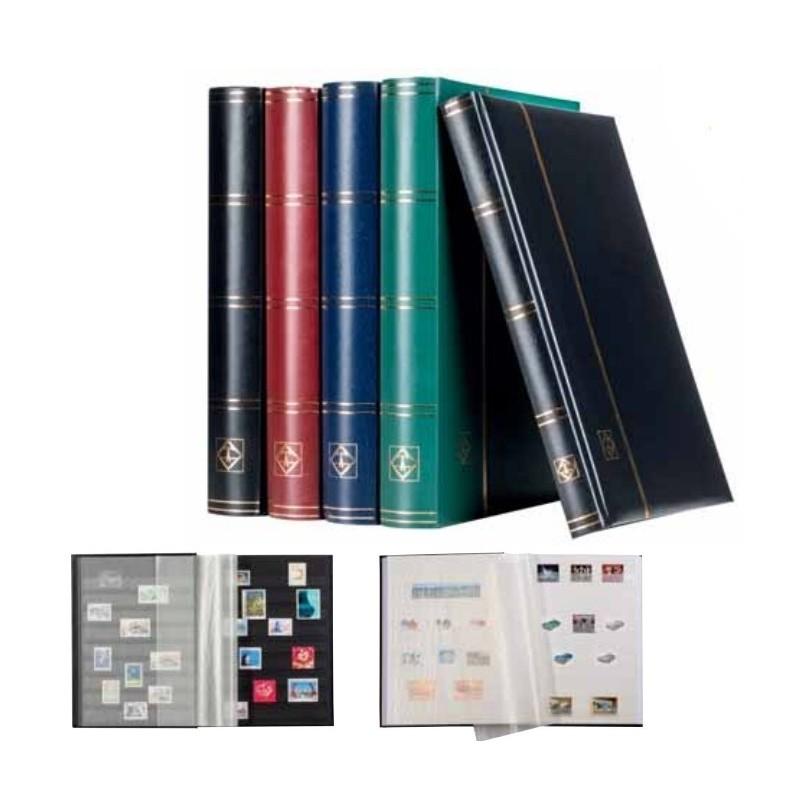Lighthouse Comfort black page stockbooks - choice of sizes