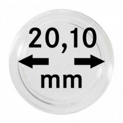 Lindner coin capsules for thicker coins per 10