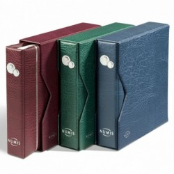 Lighthouse Numis coin album with 5 leaves & Slipcase