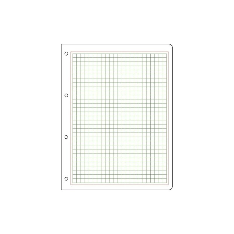 Prinz Blank Pages 4-Hole Punched 215mm x 280mm