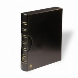Folio ring binder and slipcase - Black - 345 x 396 x 75 mm