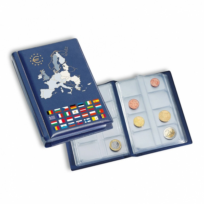 Lighthouse Coin Pocket Album ROUTE Euro for 12 euro coin sets