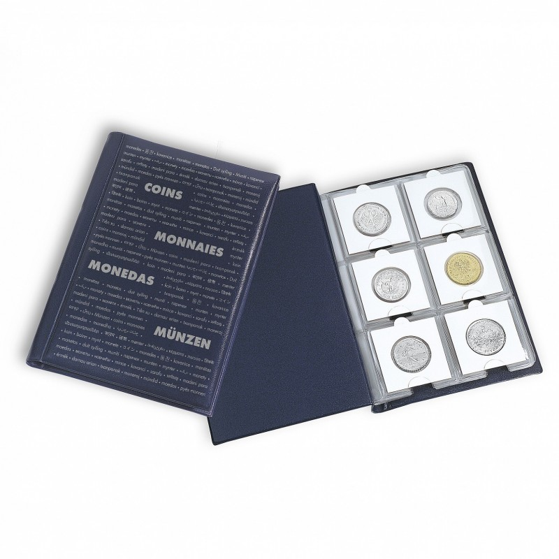 Lighthouse Coin Pocket Album ROUTE 60 M for 60 coin holders