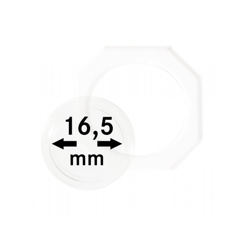 16.5 mm Lindner Coin Octo - Pack of 2