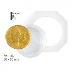 30 mm Lindner Coin Octo - Pack of 2