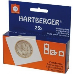 Hartberger Coin Holders Self Adhesive