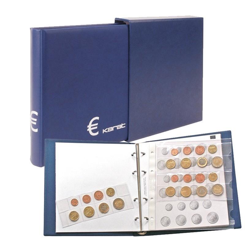 Lindner Karat-Coin Album Euro Classic