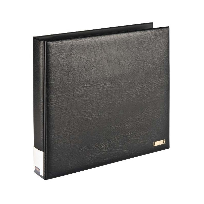 Lindner Publica XL ringbinder in black