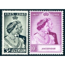 Ascension Islands stamp list