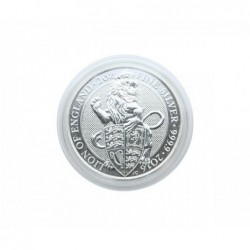 Lindner coin capsules for Queen's Beast 39x6mm per 10