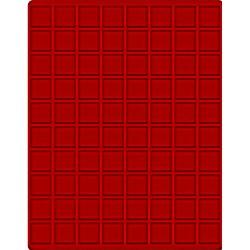 80 x 24mm square...
