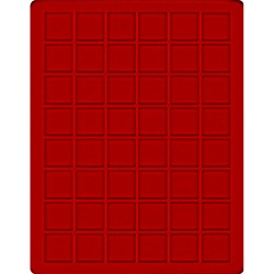 48 x 30mm square...