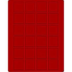 24 x 42mm square...
