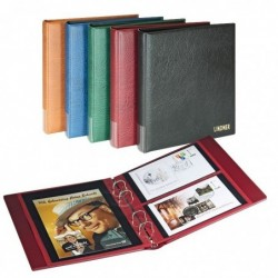 Lindner Multi Collect FDC album - Rondo compact - 4 ring with optional slipcase