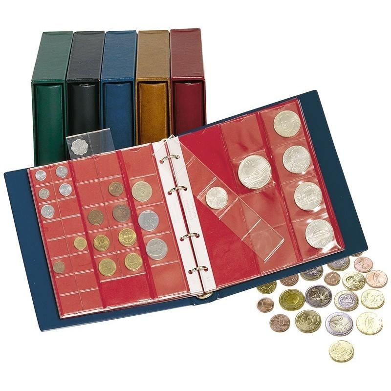 Lindner Karat Coin Album plus slipcase and 10 pages