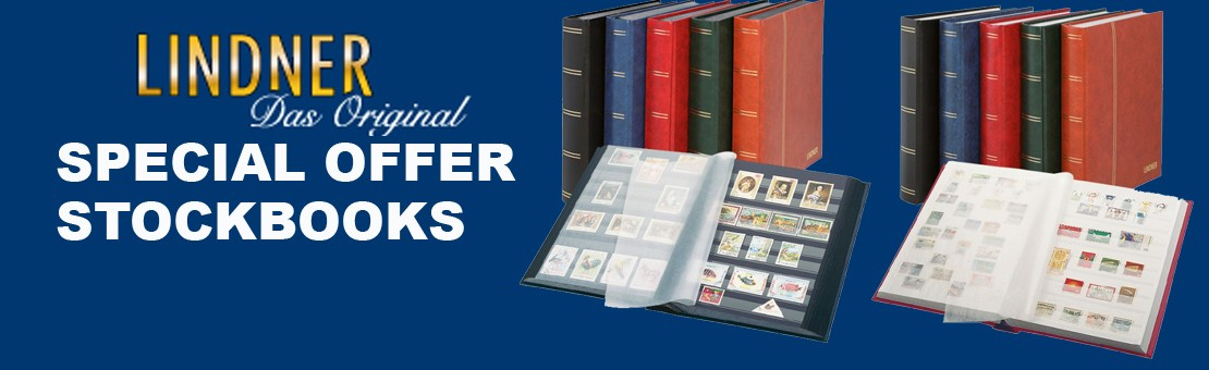 Lindner special offer stockbooks